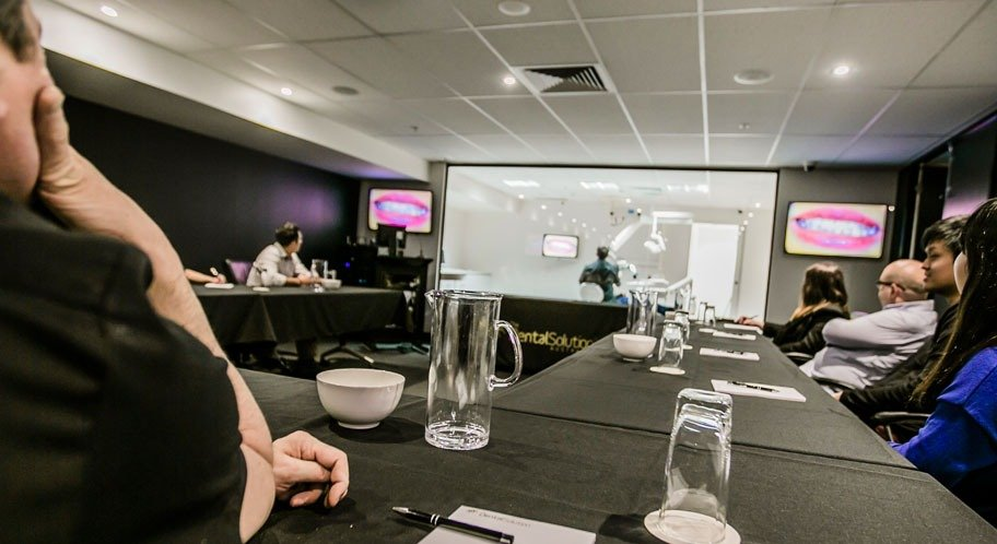 Seminar Room with Live Clinic in use | TDSA (The Dental Solution Australia)